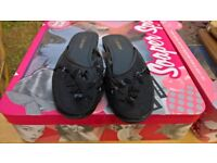 Pair of Chockers shoes size 5