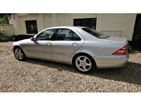 Mercedes S500 v8 Distronic (Mint Condition)