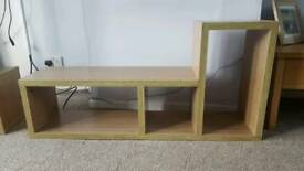 Wooden TV and Storage Unit - One or Two Available
