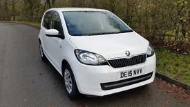 Skoda Citigo 1.0 MPI SE 5dr White, One owner from new, Service plan included for 2nd and 3rd service