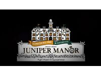 BELOW COST Gingerline & Sipsmith's Juniper Manor - 4 course dinner and gin experience
