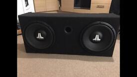 JL Audio 2x 12WX-4 Subwoofers