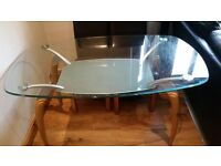 Harveys Glass Dining Table FREE