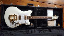 Custom 77 Lust 4 Life, Montana's Fate Guitar with Bigsby & TV Jones pickups