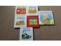 rod Campbell board books....dear zoo etc