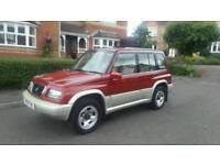 SUZUKI VITARA 4WD AUTOMATIC 48000 MILES FSH ONLY 2 OWNERS LOOKS AND DRIVES PERFECT TEL 07399829782