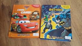 Books, batman, cars, toys