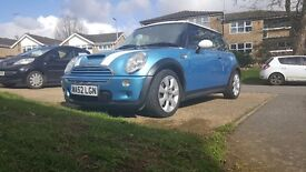 Mini Cooper s jcw 206bhp rare to find one in blue less that 100k miles fresh mot no advisories