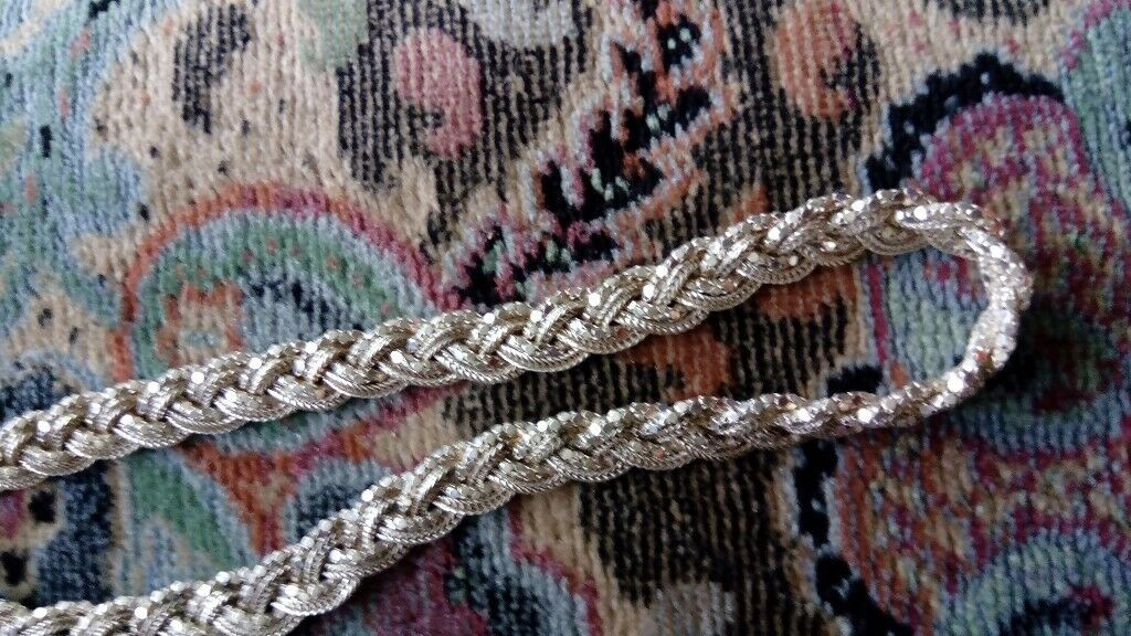 Silver chain, necklace