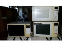 Toshiba microwave's