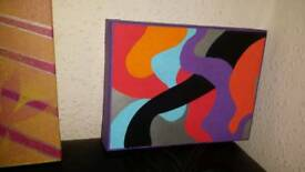 Oil painting canvases (blank or as seen)