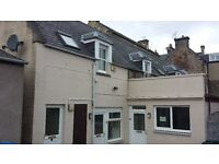 One bedroom downstairs flat to rent. Forres town centre. Ample free parking.Lowest Council Tax Band.