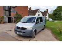 IDEAL CHRISTMAS PRESENT - VW T5 Transporter 1.9 Camper Van - Fully converted, 5 seats