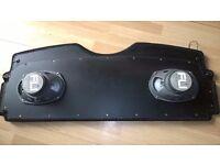 Peugeot 206 Parcel Shelf with speakers