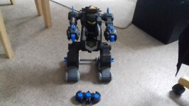 Imaginext remote control transforming batmobile