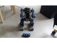Imaginext remote control transforming batmobile