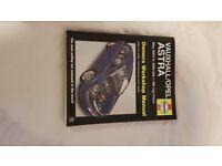 For Sale Haynes Manual Vauxhall Asra mk5 2004- 2008 Petrol.