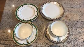 Vintage China cup, saucer, side plate