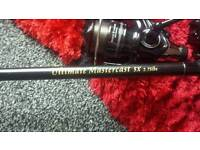 Rods and reels carp fishing