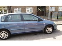looking to swap my honda civic 16 auto for a 7 seater car