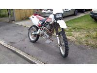 1999 Honda XR400 R Trials Trails Enduro Green Laner Offroad Road Legal Motocross Bike with MOT