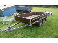 Twin wheeled trailer German made excellent condition