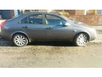 NISSAN PRIMERA SVE 1 OWNER FROM 2005 LOW MILEAGE