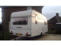 1998 Compass Omega 5 Berth Touring Caravan Plus Arwing