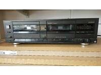 Technics twin cassette recorder