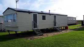 3 bed caravan available between now and xmas. West Sands, Selsey.