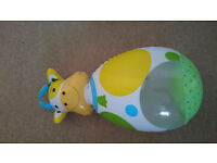 Inflatable cow toy for babies
