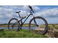 "Saracen kili flyer 121 19"" 2015 mountain bike"