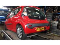 Citroen C1 rhythm headlights bonnet bumper 2008 red
