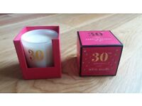 White Vanilla Home Fragrance Scented Candle