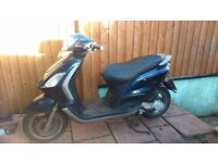 PIAGGIO FLY 100 cc 2009 automatic scooter