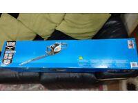 Petrol Hedge Trimmer Brand New ( Mac Allister MHTP24 24.5 cc ) unused