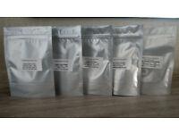 Super Foods - Chia Seeds, Flax Seeds, Hemp Seeds, Cacao Powder and Quinoa. All Organic