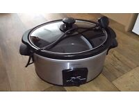 Argos Slow Cooker Large capacity Excellent condition