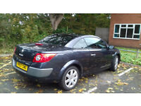 Renault Megane Cabriolet Automatic, 1.6, 2007, low mileage, lady owner