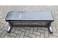 BODYMAX CF302 FLAT WEIGHTS BENCH WITH DUMBBELL RACK