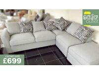 Designer buoyant Barley 2 piece corner sofa £699