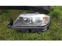 BMW 3 SERIES - E90/ E91 - HEADLIGHT - PASSENGERSIDE - LCI - FACELIFT
