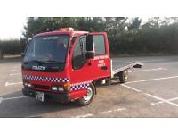 izuzu nkr 55 2002 recovery truck in good condition drives fine £2175 ono or nerast offer