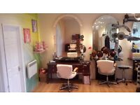 RENT A CHAIR, an opportunity for a hairdresser to be their own boss, self employed with own clients