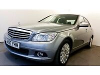 2007   Mercedes-Benz C220 CDI Elegance   FULL MERCEDES SERVICE INVOICES   BLUETOOTH  LEATHER SEATS  