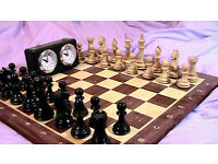 professional full size weighted chess set.