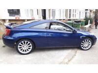Toyota Celica blue sports car / Lady-driven car/ perfect condition