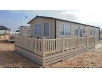 Sunnyvale Caravan Park,Kinmel Bay.Platinum 3 bed caravan.Price varies on dates.