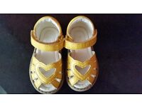 Girls mothercare size 3 infants sandals