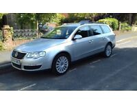 2008 VW Passat highline estate. Excellent condition only 2 owners